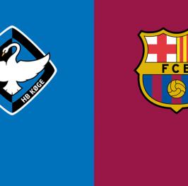 UEFA Champions League F: Koge vs Barcelona