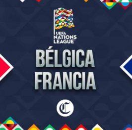 UEFA Nations League: Bélgica vs Francia