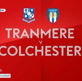 League Two: Tranmere vs Colchester